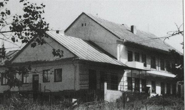 Budova jaslí š.p. Vihorlat (do roku 1998)